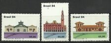 BRAZIL. 1984. Historic Railway Stations Set. SG: 2095/97. Mint Never Hinged
