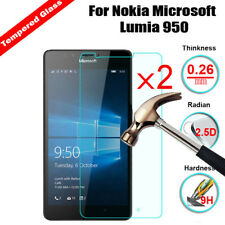 2X Tempered Glass Screen Protector For Nokia Lumia 530 550 630 640 950XL 5 6 7 8