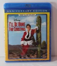 I'll be Home for Christmas Blu Ray Disney Movie Club Exclusive NEW