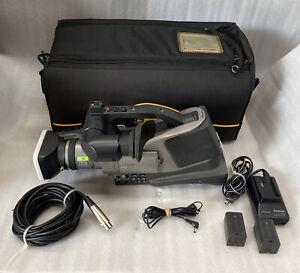 Panasonic AG-DVC7P Mini DV Camcorder 2-Batt's AC Adapter XLR Cable Case *RECON