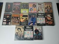 Lot Of 15 Country Cassettes Alan Jackson, Patsy Cline, Conway Twitty, George J.
