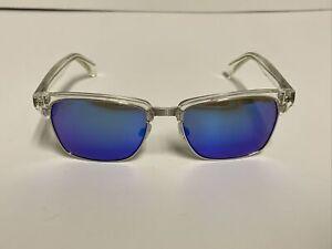 Maui Jim Kawika Silver/Clear Sunglasses MJ-257-05CR 54[]18-140 Preowned READ