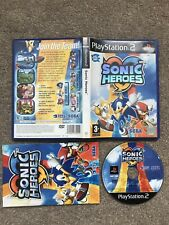 PlayStation 2 Game - Sonic Heroes (Very Good Condition) PS2 UK PAL