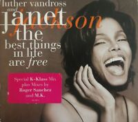 """JANET JACKSON : THE BEST THINGS ON LIFE ARE FREE (K KLASS 12"""" & 7"""") [CD SINGLE]"""