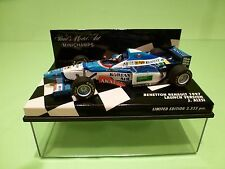 MINICHAMPS 1:43 - BENETTON RENAULT 1997 J.ALESI - LAUNCH VERSION   -  NMIB