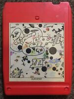 Led Zeppelin III SUPER RARE RED CASE 8 TRACK