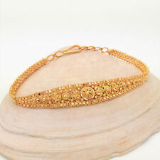 """HALLMARKED 22KT 916 SOLID GOLD BRACELET JEWELRY HOOK CLASP 6.5""""-7"""" MOTHERS DAY"""