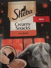 Sheba Creamy Snacks with Beef