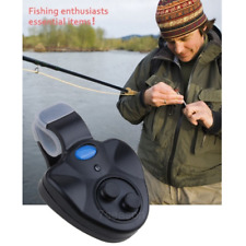 Fishing Electronic LED Light Bite Sound Alarm Alert Bell Clip On Fishing Rod New