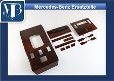 H-010/ Mercedes R107 560SL Holz Wurzelholz Set für US-Modelle ab ´85