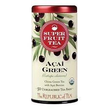 Acai Green Tea, The Republic of Tea, 50 tea bag
