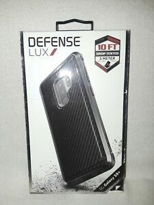 Defense Lux Galaxy S9+ Case Drop Tested Anodized Aluminum Black Carbon Fiber