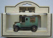 "Lledo - 1920 FORD MODEL T Van ""DAYS GONE Collectors Club 1992"""