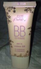 100% Pure Vegan BB Cream Spf15 in * 10 LUMINOUS * Fair 1oz/30ml Brand New Sealed