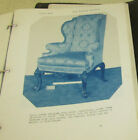 antique vint Henry McCleary House Olympia WA decorator furniture catalog 1924