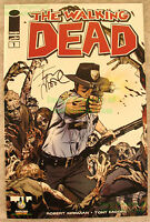 THE WALKING DEAD #1 2013 Portland Comic Con Golden Variant Signed Tony Moore