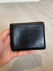Mulberry Wallet Black Leather