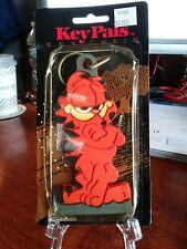 Vintage Key Pals Garfield the Cat Flexible & Soft Novelty Vinyl Keychain Figure