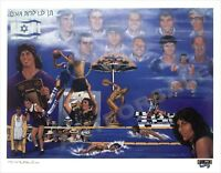 Remember the Munich Eleven by Robert Stephen Simon 26x35 S/N LTD-ED. LITHOGRAPH