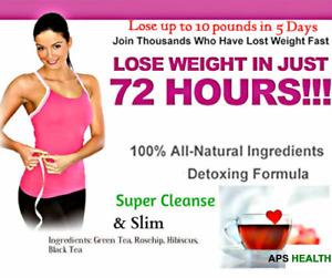 Fast Slimming & Weight loss Fat*Burner Diet TeaTox-Strong Detox Burn Fat Tea