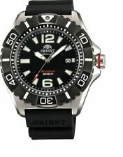 Orient M-Force Titanium SDV01003B0 Black Dial Black Rubber Band Men's Watch