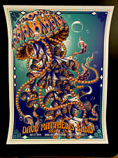 Dave Matthews Band Drive In Poster West Palm Beach 2019 Official Bioworkz #'d