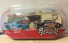 CARS Disney Store Original Serie TWIN PACK Talking Dinoco McQueen & Doc Hudson!