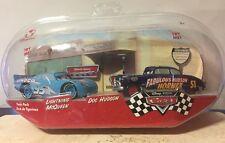 CARS Disney Store Original Serie TWIN PACK Talking Dinoco McQueen & Doc Hudson!