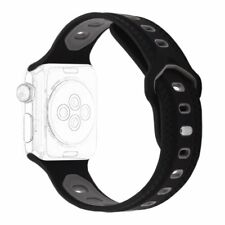 Antemart Replacement Silicone Sport Band for Apple Watch Series 3 Series 2 Serie
