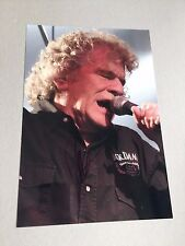 "DAN McCAFFERTY ""NAZARETH"" singer signed autograph In-Person 8x12 (20x30 cm)"