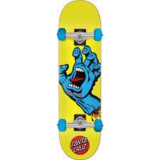 """Santa Cruz Skateboards Screaming Hand Mini Complete Skateboard - 7.75"""" x 30"""""""