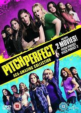 Pitch Perfect/Pitch Perfect 2 Anna Kendrick, Elizabeth Banks NEW UK REGION 2 DVD