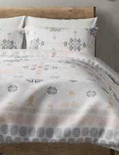 Marks & Spencer Cotton Diamond Jacquard Bedding Set - Super King Size