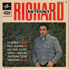 "7"" FRENCH EP 45 TOURS RICHARD ANTHONY ""Et Après ? +3"" 1967 ROLLING STONES"