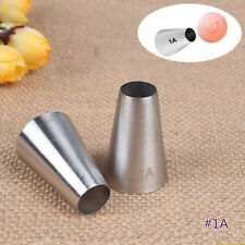Large Round Metal Cake Cream Decoration Tip Stainless Steel Piping Icing Nozzle