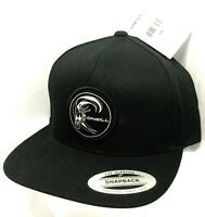 NEW O'NEILL BLACK SURF HAT - Surfing Company Adjustable Snapback Cap ~ Rare Find