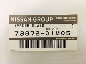 Genuine OEM Nissan 73872-01M05 Sun Roof Gasket Seal Weather Strip Protector