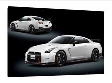 NISMO Nissan GTR Wallpaper 30x20 Inch Canvas - Framed Picture Poster Print