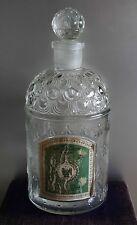 Antigua botella de VERITABLE EAU DE COLOGNE IMPERIALE de Guerlain 1L. VINTAGE