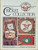Cricket Collection Christmas Saint Nicholas Claus K Cross Stitch Chart Pattern