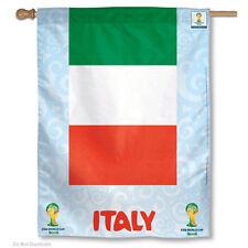 World Soccer Italy National Team FIFA World Cup House Flag