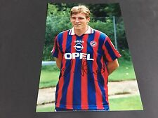 ANDREAS HERZOG BAYERN MÜNCHEN signed Photo 20x29 In-Person