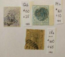 Straits Settlements  1867  n.n.12,14,18  (559)