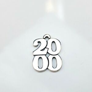 James Avery sterling silver 2020 charm 1.9g