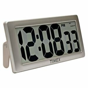Acurite 13.5-inch Timex Intelli-time Extra-large Digital Clock - Digital -