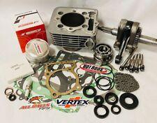 99-04 TRX400EX TRX 400EX Rebuild Kit Motor Engine Top Bottom End Crank Wiseco