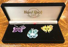 Hard Rock Cafe 2001 NEW ORLEANS 2001 Mardi Gras Set LE500 MIB!
