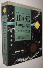 THE dBASE LANGUAGE REFERENCE - EDWARD JONES - EN INGLES