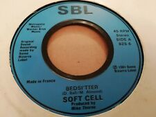 """SOFT CELL * BEDSITTER * 7"""" SINGLE 1981 VERY GOOD"""