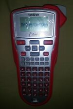 Brother P Touch Pt 1010 Home Amp Office Labeler Portable Label Maker Red New Other